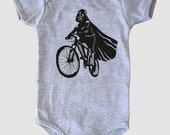 Darth Vader is Riding It - Baby Onesie Bodysuit ( Star Wars baby boy or girl onesie )