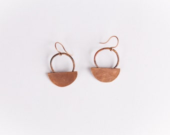 Changing Shapes Circle Earrings