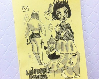 Leisurely Penned - Illustrated Zine Art Book