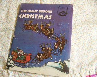 book and record set the night before christmas