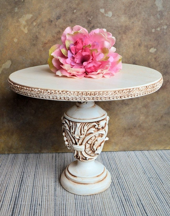 tall white wedding cake stand ornate rustic cake pedestal stand 10 x 12 by 20747