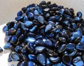 On Sale 50 Jet Azuro Flower Petal PIP Beads 50 pcs Preciosa Czech Glass Beads PIP/J22203 Pip 034