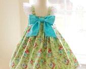 Girls Meadow Blooms Dress
