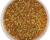 Gold Disco Dust - sparkly glitter for decorating cookies, cakes, cupcakes, and cakepops