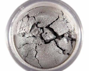 Silver Luster Dust - dust for adding high luster sheen to gum paste, fondant, cakes, cupcakes, cookies, and cakepops