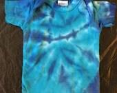 Tie Dye Lap Shoulder T-Shirt  Infant Newborn