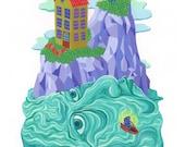 Oceanman - Giclee Print