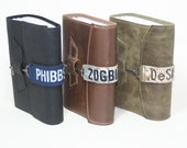 Custom Deployment Journal (MD) - Custom Name Tape - You choose the Military Branch