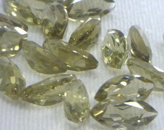 One Light Smoky Quartz Gemstone 10x5 mm Faceted Marquise Cut Average 1.00 carat