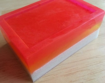 Plumeria Glycerin Soap