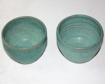 Turquoise  Bowls for Prep, Serving, Multipurpose Each  Holds One Cup Gift for a Gourmet