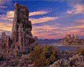 Mono Lake Fine Art Photo California Eastern Sierra Lake Tufa Towers Mono County Sunset