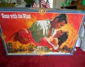 1989 Vintage Gone with the Wind Jigsaw Puzzle 800 piece No 98014.9