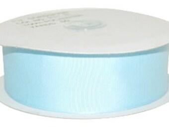 1.5 inch x 50 yds grosgrain ribbon -Light Blue