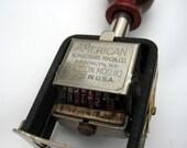 Vintage American Numbering Machine