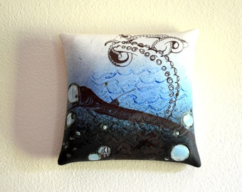 Creatures From The Deep Ceramic Wall Art