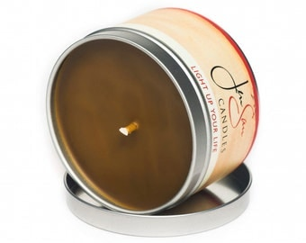 Chocolate Travel Tin Soy Candle