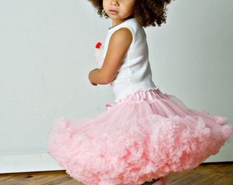 Light Pink Pettiskirt by Dreamspun - Tutu Petti Skirt