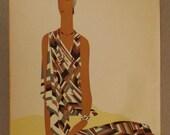 POCHOIR BENITO Original Vogue 1920s Ilustration Art Deco excellent condition app 11 by 14 inches rare fashion find