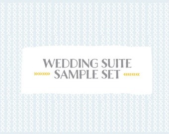 Wedding Suite Sample Set