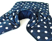 XL Large Neck Shoulder Back Heating Pad, Large Heat Pack, Hot Cold Body Pillow Heating Pad, Rice Flax Big Heat Pad