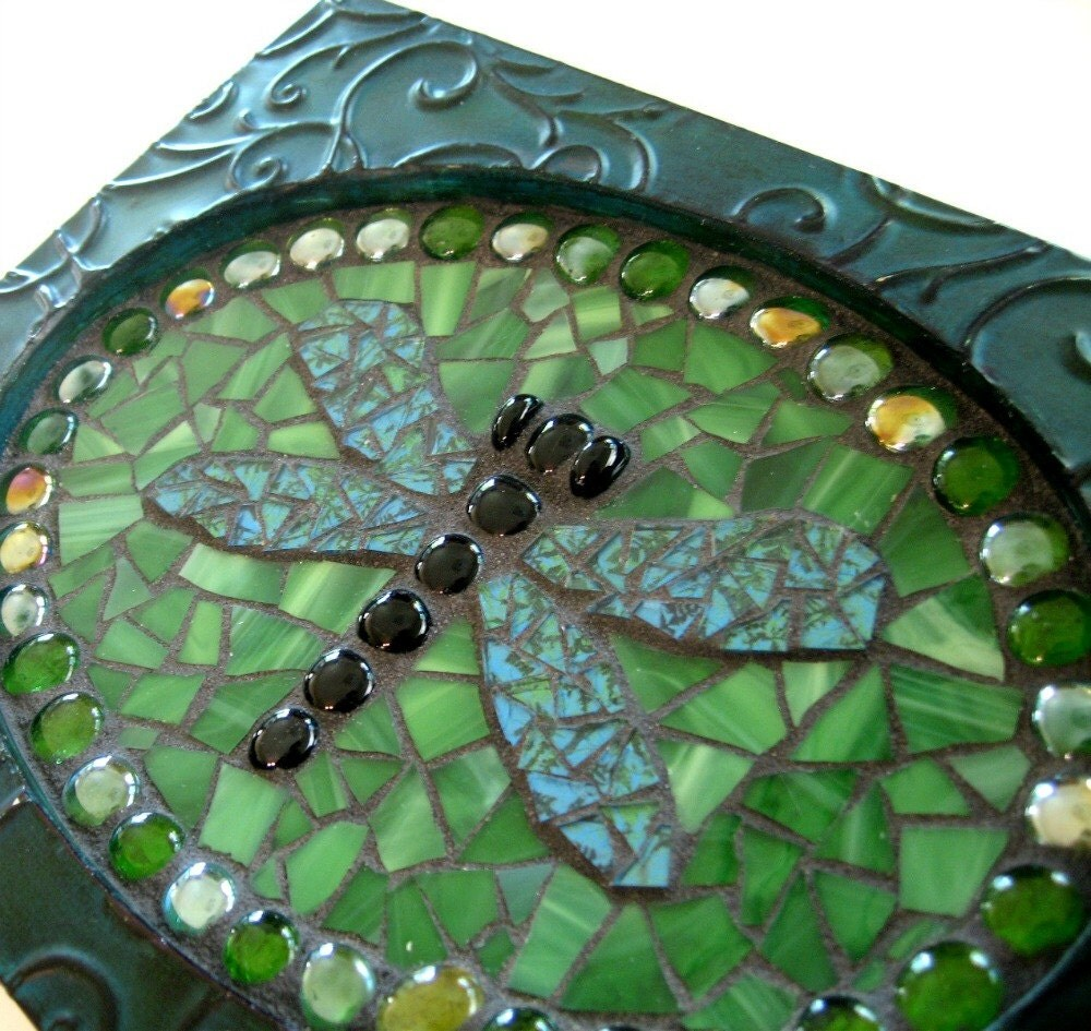 Dragonflies Wall Decor Dragonfly Mosaic Wall Hanging Dragonfly Art Mosaic Wall Art