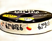 Halloween Ribbon - Trick or Treat - Candy Corn - Liquidation Sale