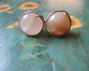 Botswana Bead stud earrings