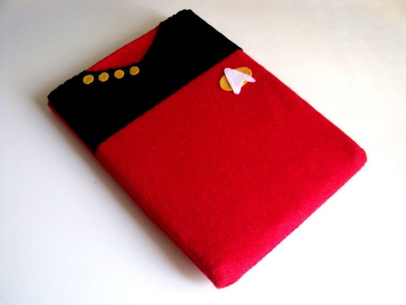 "6 "" Kindle case padded sleeve cover ebook ereader e-reader Star Trek The Next Generation MADE TO ORDER"
