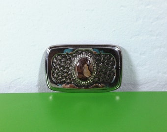 Vintage Buckle with Stone Setting
