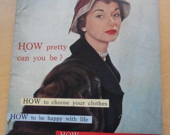 Woman and Beauty magazine January 1956