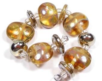 When In Rome Handmade Lampwork Glass Beads