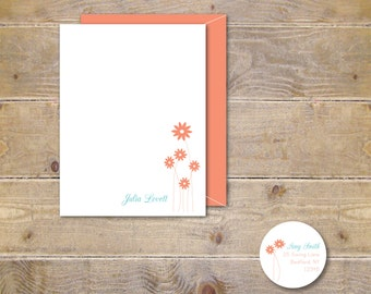 Personalized Stationery, Personalized Stationary, Stationery Set, Thank You Cards, Thank You Notes, Hostess Gift, Bridal Shower, Baby Shower