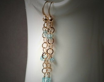 Gold Filled earrings, gold dainty earrings, apetite earrings, bridesmaid earrings,