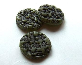 Asian Buttons Jade No. 66