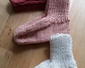 Newborn knit Sock, Baby sock,  Cotton socks, handknit baby sock, Baby gift,  Welcome Baby, Baby Sock Canada, Baby sock Montreal