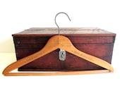 Vintage Wood Hanger Arnolds Dry Cleaners Antique Closet