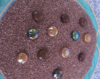 Copper Sand Mosaic Supplies Scale Model Railroad Landscaping 5oz bag Copper Sand 5oz bag