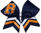 Custom School College colors Cheer bow by FunBows !!