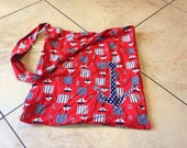 Nautical tote bag beach wear ancor M one of a kind