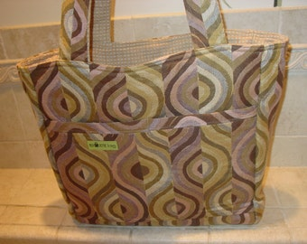 Reversible Upholstery Tote