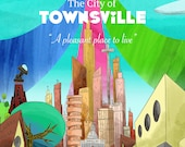 The City of Townsville Travel Poster
