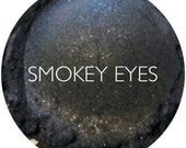 Smokey Eyes Mineral Eyeshadow • Natural Mineral Eye Shadow • Mineral Makeup • Earth Mineral Cosmetics