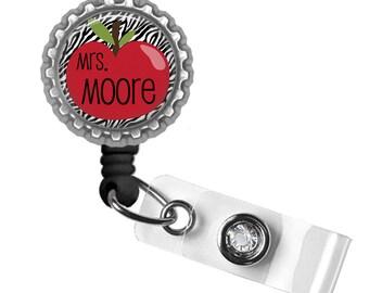 Teacher, Badge Reel, ID Holder, Gifts for Teachers, Teacher Lanyard, Thank You Gift, Back to School, Personalized, Teacher Gifts