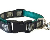 Camera Cat Collar with Breakaway Safety Buckle