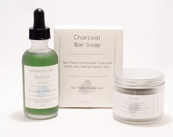 Detox Skin Care Set. Beauty Gift