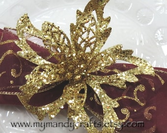 Napkin Rings - Christmas