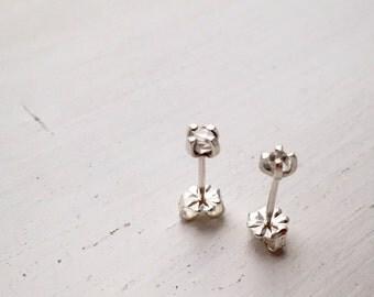 SALE - Herkimer Diamond Stud Earrings
