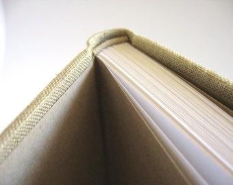 9x7 Lined Linen Journal
