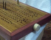 Enter the etys.com coupon LEAPYEAR2016 at etsy checkout for a 29% discount!  Artisan Cribbage Board - Particles+1 - Charm